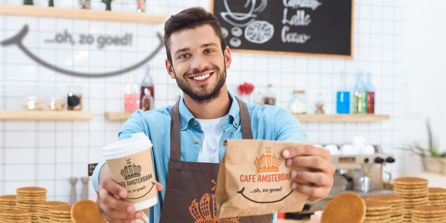 Cafe Amsterdam makes it easy to enjoy a Dutch treat — with ready-to-eat packaging at convenient locations.