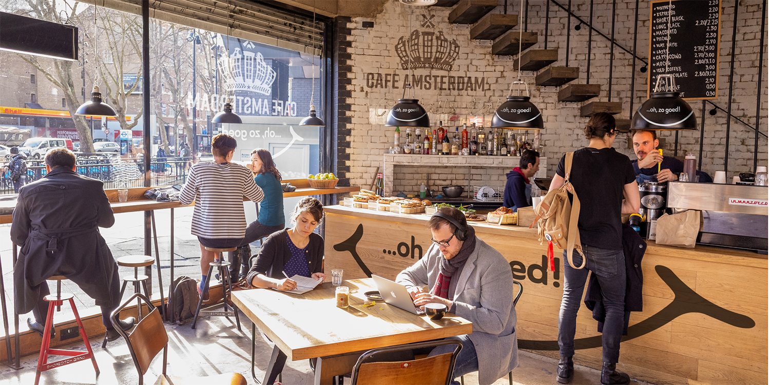 Cafe Amsterdam — bringing the cafe experience to your home
