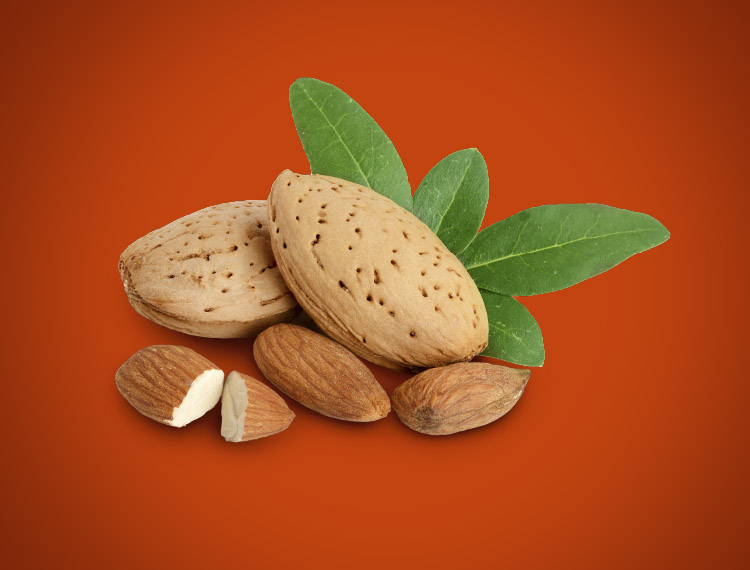 Fresh, Raw Almonds and roasted almonds complete the flavour profile of these Dutch treats.