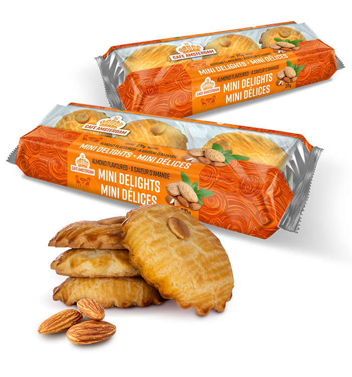The Cafe Amsterdam Almond Mini Delight product family