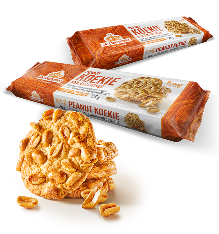 The Cafe Amsterdam Peanut Koekie product family