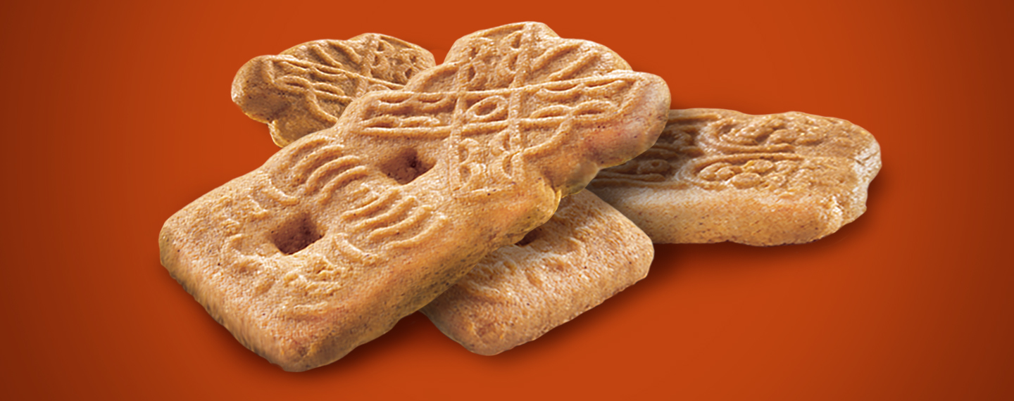 A stack of Speculaas are ready to enjoy!
