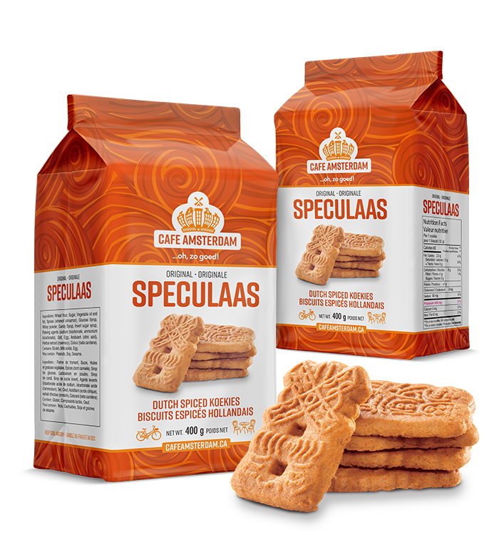 The Cafe Amsterdam Speculaas product family